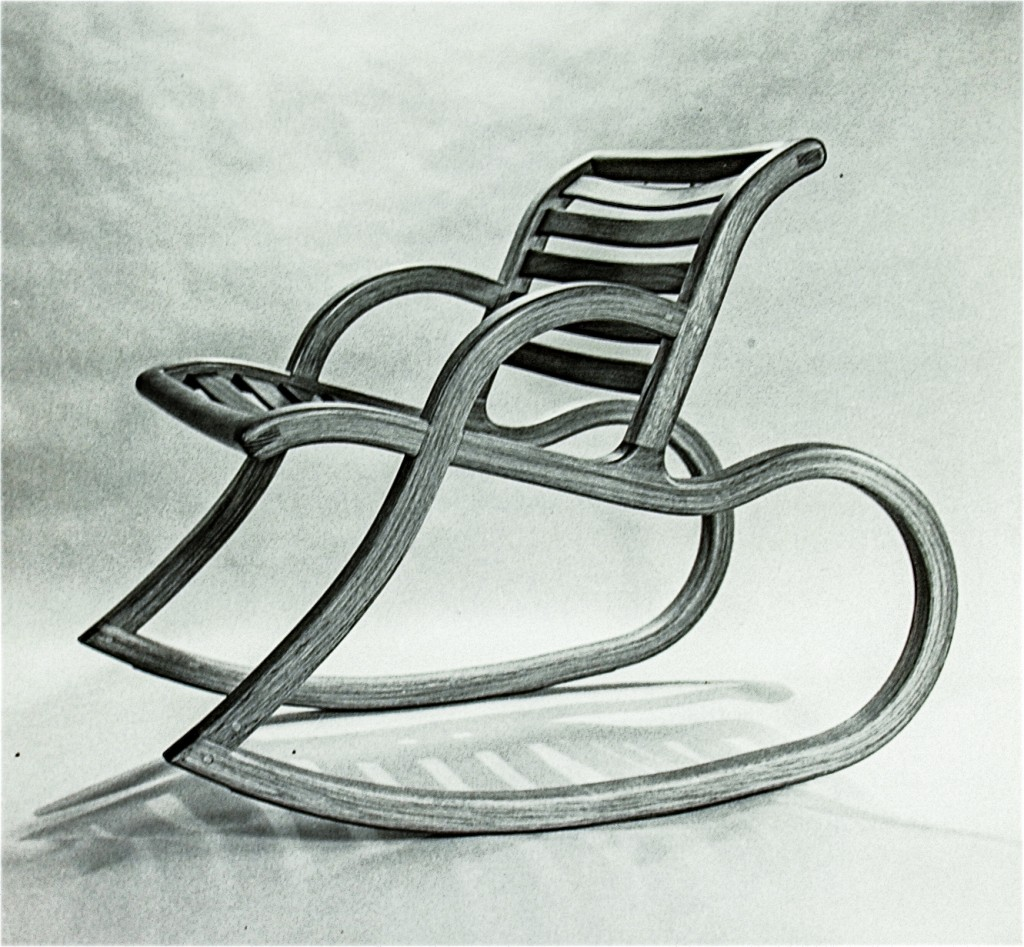 Bent Laminated Rocker
