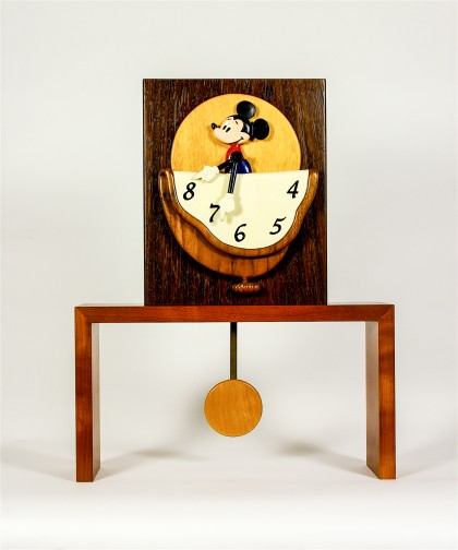 Mickey Mantle Clock